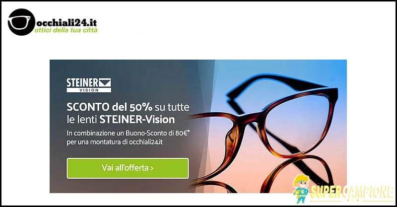 Occhiali24: codice sconto occhiali progressivi da sole 50%