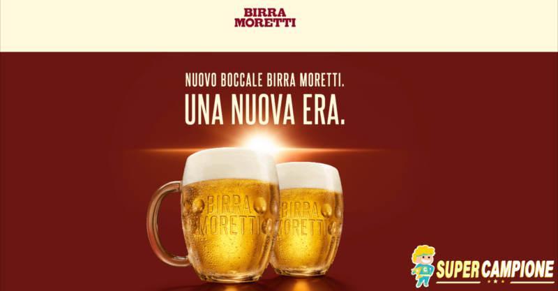 Birra Moretti: ricevi omaggio 2 boccali