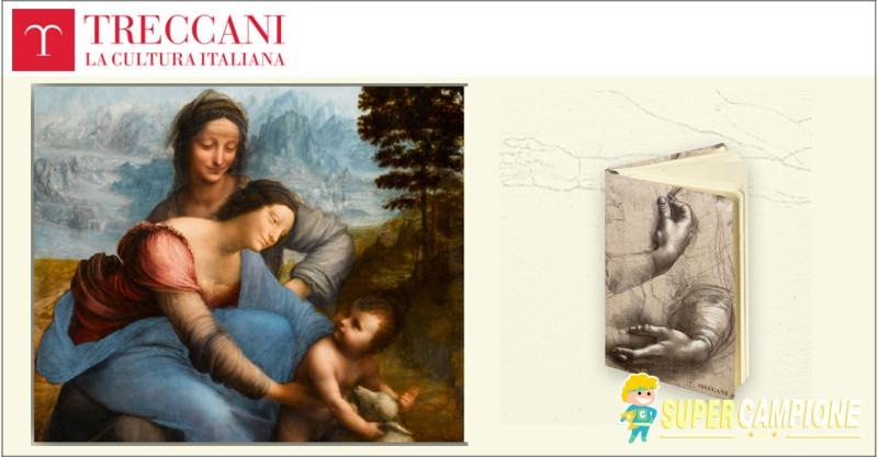 Supercampione - Treccani: omaggio taccuino da disegno