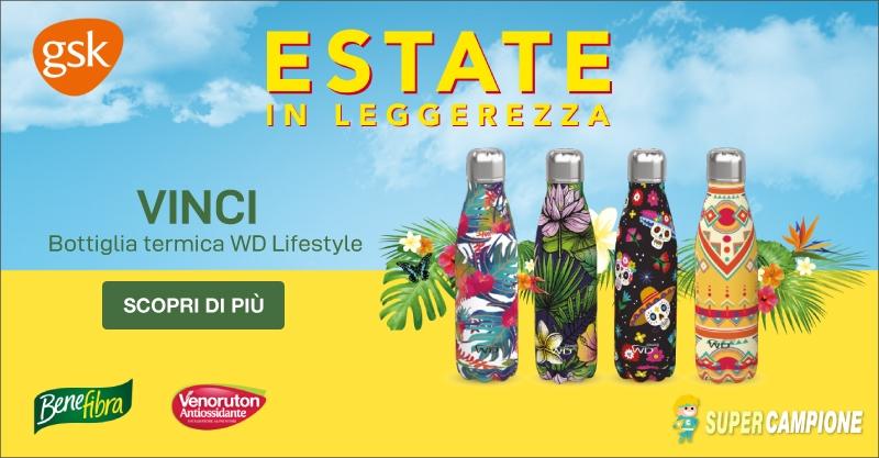 Vinci una Bottiglia termica WD Lifestyle