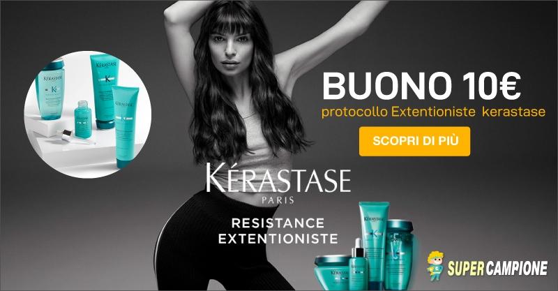Supercampione - Buono sconto 10€ Kérastase Extentioniste