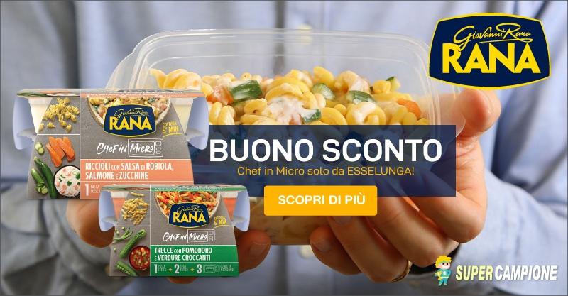Supercampione - Buono sconto la Schiscetta di Giovanni Rana!