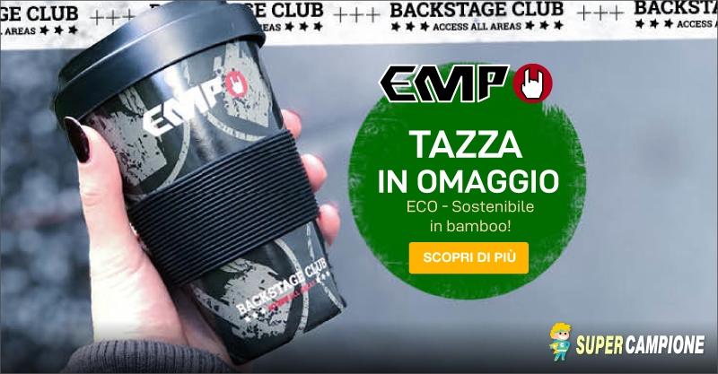 Supercampione - EMP: Omaggio tazza da viaggio in bamboo