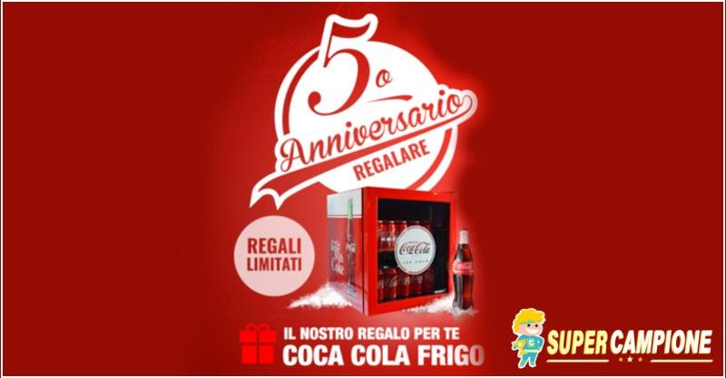 Supercampione - Vinci gratis un frigo Coca Cola
