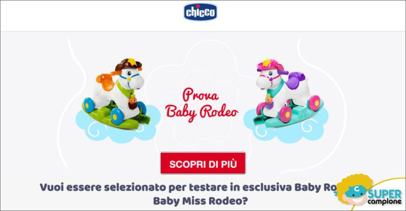 Diventa tester Chicco Baby Rodeo