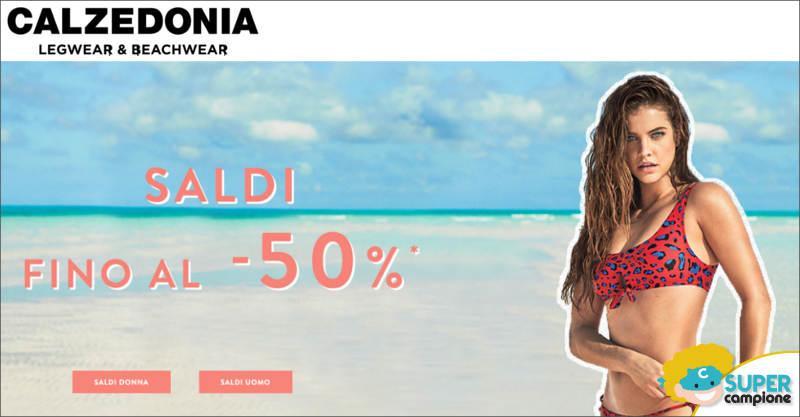 Calzedonia: saldi estivi fino al 50%