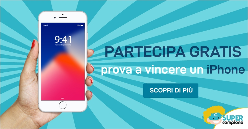 Vinci gratis un Iphone 8