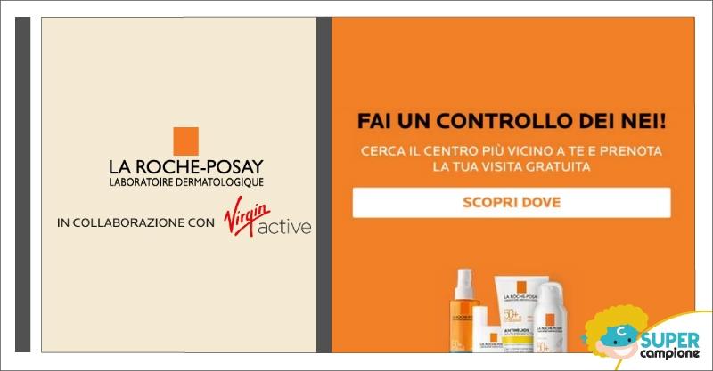 La Roche-Posay e Virgin: mappatura dei nei gratis