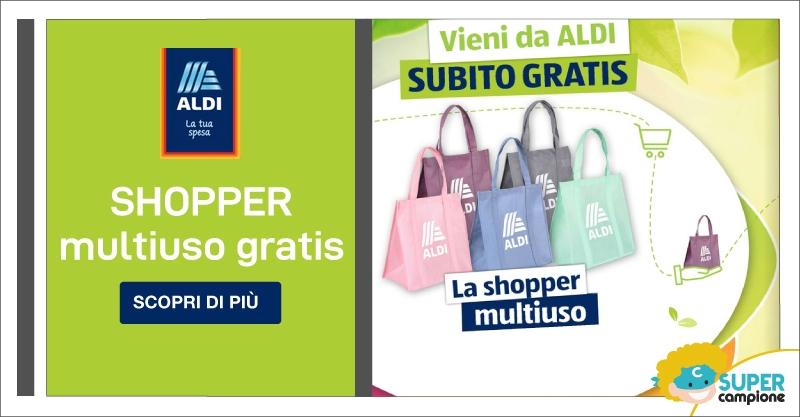 Omaggio Shopper Multiuso Aldi