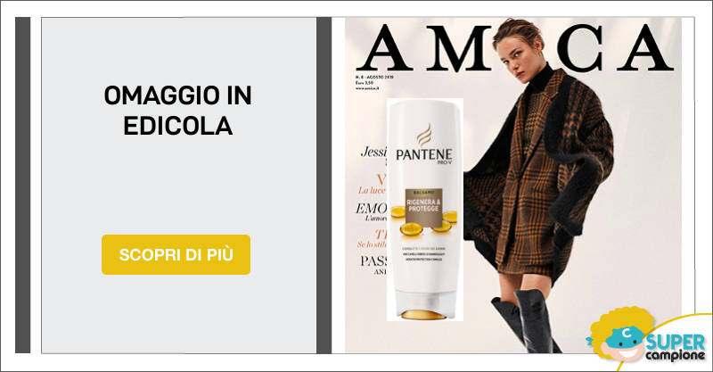 Amica: campioni omaggio shampoo Pantene (90ml)