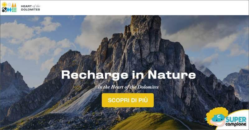 Vinci gratis viaggio nelle Dolomiti