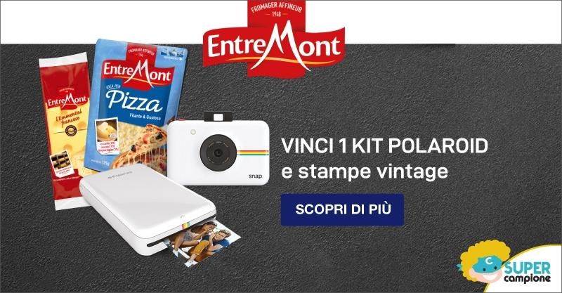 Vinci kit Polaroid e Stampe Vintage con Entremont