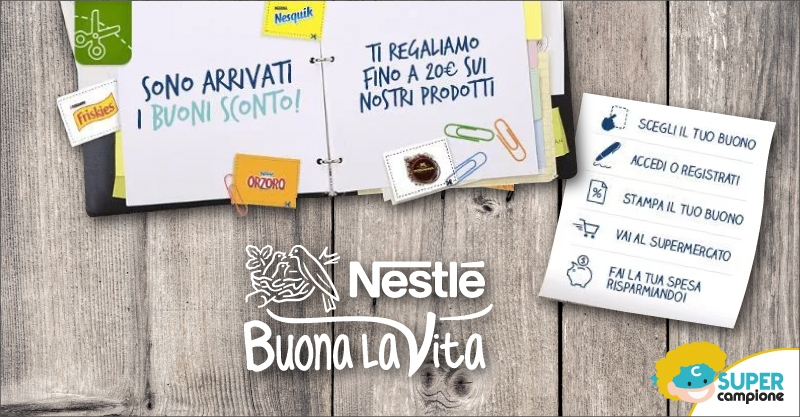 Buoni sconto Nestlé