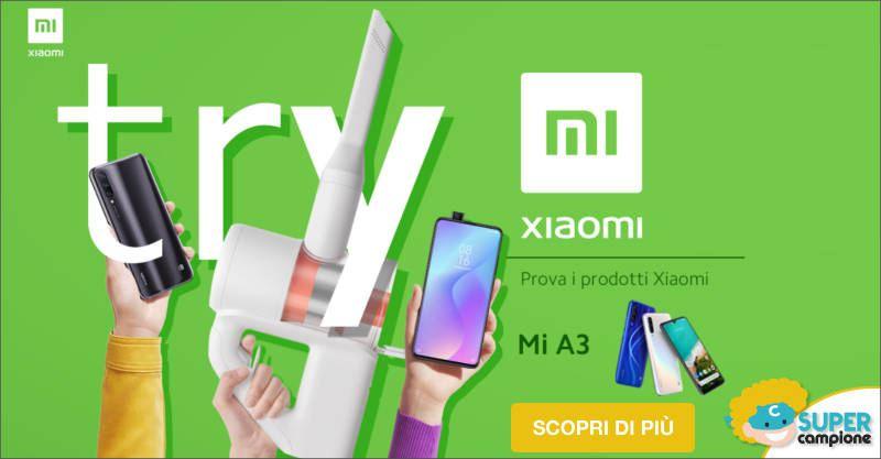 Diventa tester smartphone Xiaomi Mi A3