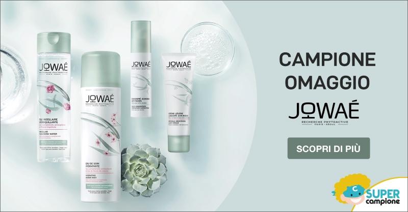 Campione omaggio Jowaè tra 4 prodotti a scelta