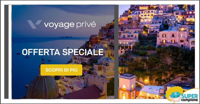 Voyage Privè: vacanze da sogno con sconti fino al 70%