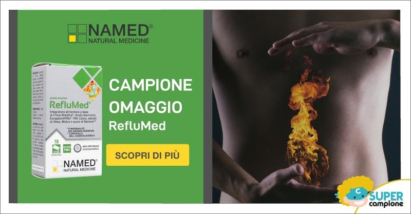 Campione omaggio RefluMed con Named Natural Medicine