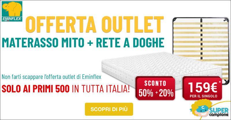 Eminflex: offerta Outlet sconto 50%