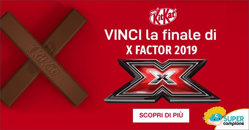 Vinci i biglietti per la finale di X Factor 2019 con KitKat