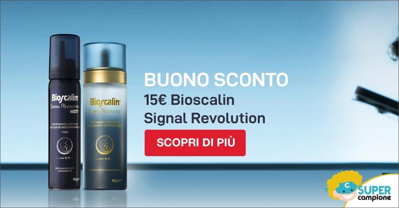 Buono sconto Bioscalin Signal Revolution
