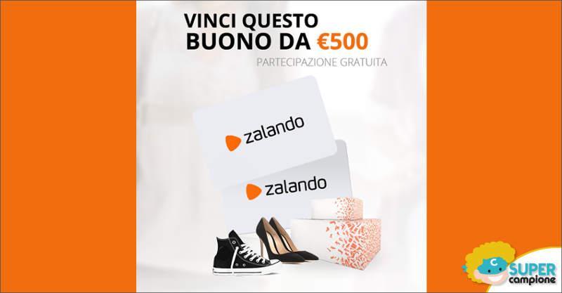 Vinci gratis un buono Zalando da 500€