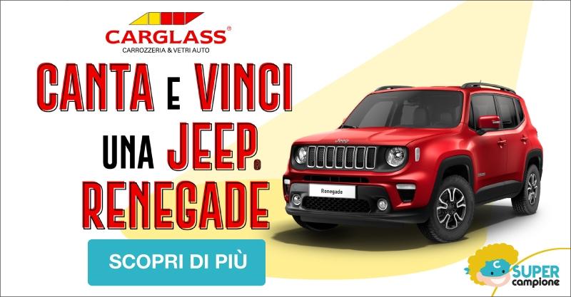 Canta & Vinci Jeep Renegade con Carglass