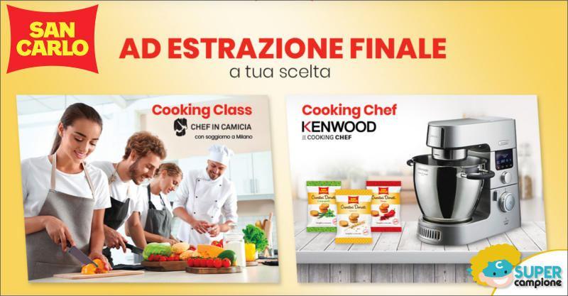San Carlo: vinci Cooking Chef Kenwood e Cooking Class