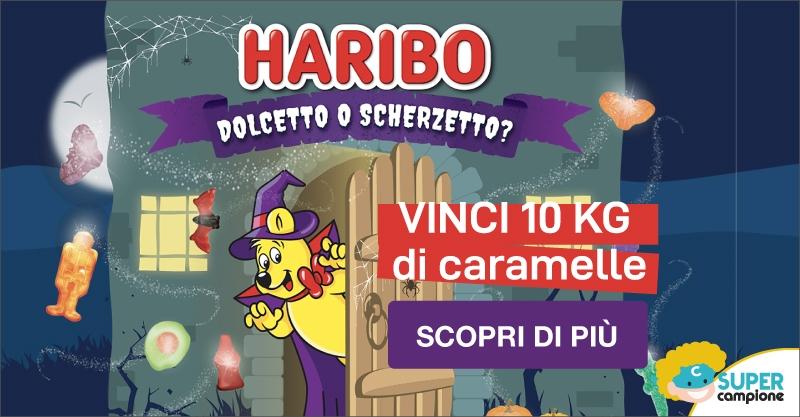 Vinci gratis 10kg di caramelle Haribo!