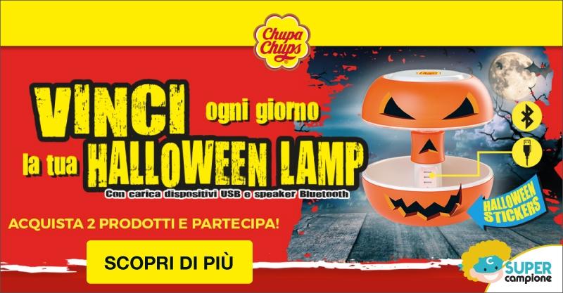 Vinci la Halloween Lamp con Chupa Chups
