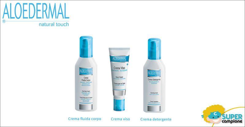 Campioni omaggio cosmetici Aloedermal
