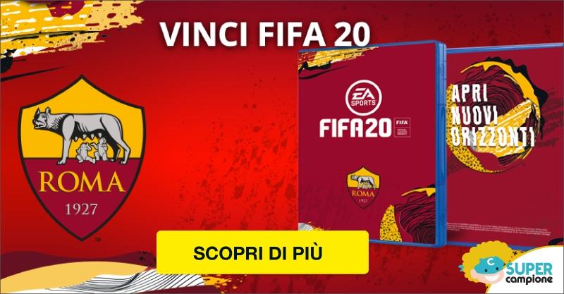 Vinci gratis Fifa20 con As Roma!
