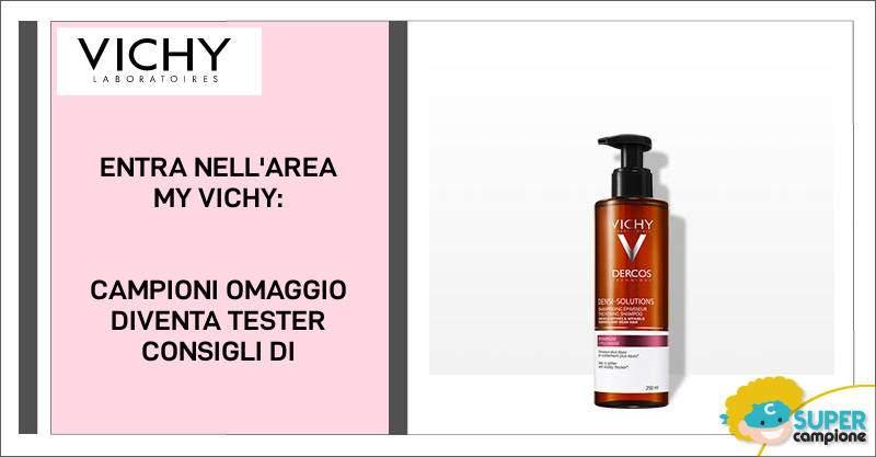 My Vichy: campioni omaggio shampoo Dercos