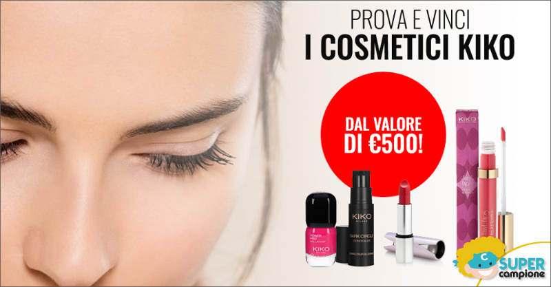 Vinci gratis 500€ di cosmetici KIKO