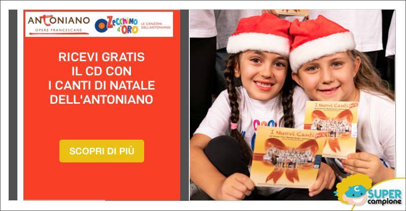 Omaggio CD di Natale Antoniano e Zecchino d'Oro