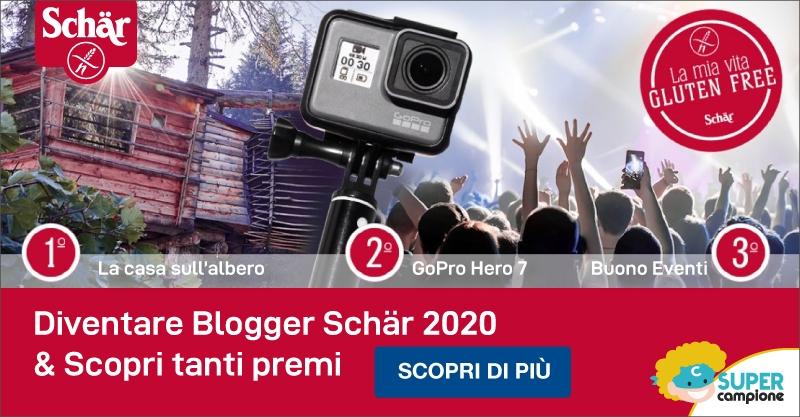 Schär diventa blogger e vinci tanti premi!
