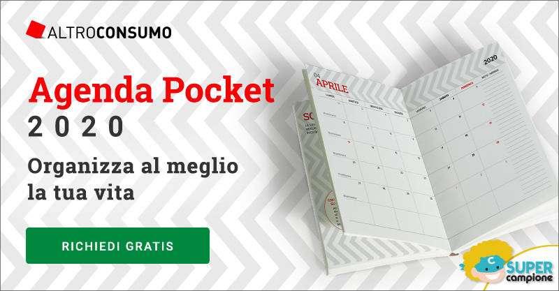 Altroconsumo: richiedi gratis la tua Agenda Pocket