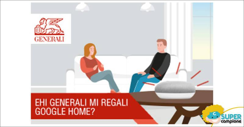 Generali ti regala film e Google Home Mini