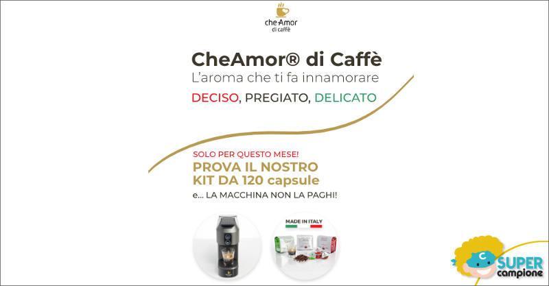 CheAmorDiCaffè: ricevi omaggio la macchina del caffè
