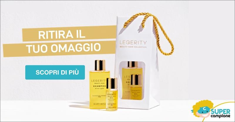 Campioni omaggio Legerity Baggie