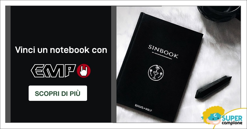 Vinci 1 notebook con EMP