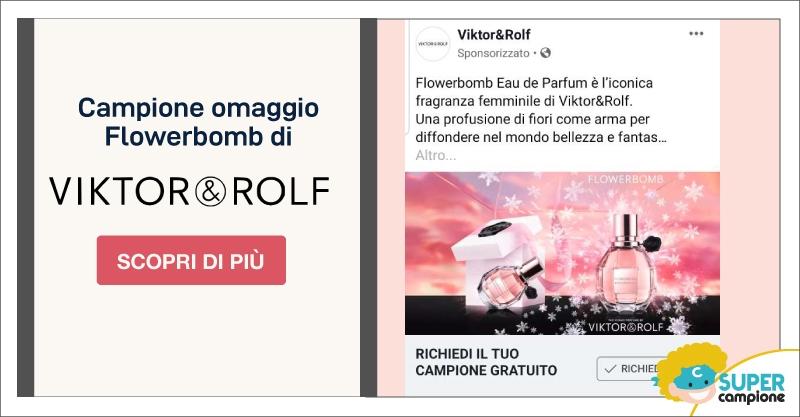 Campione omaggio Flowerbomb Eau de Parfum Viktor & Rolf