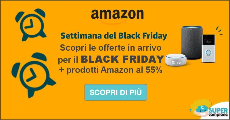 Black Friday Amazon: le migliori offerte