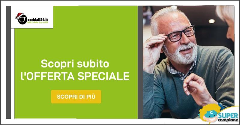 Occhiali24: offerta lenti progressive premium + montatura gratis