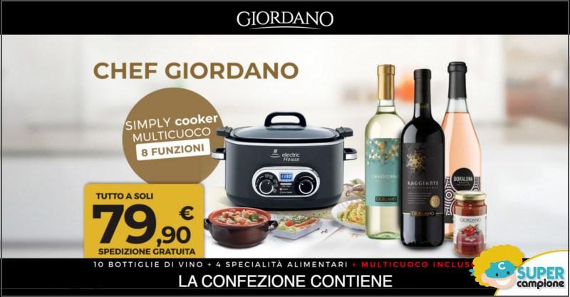 Giordano Vini: ricevi Simply cooker multicuoco