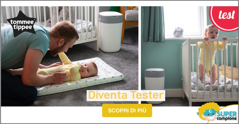 Diventa tester Tommee Tippee