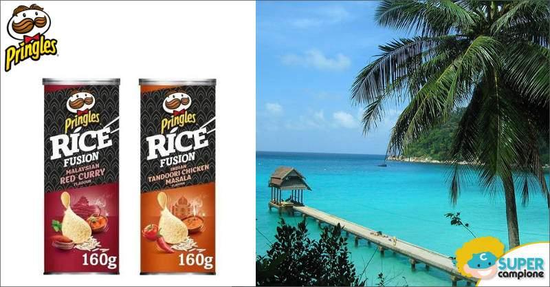 Pringles Rice Fusion: vinci viaggio in India o Malesia