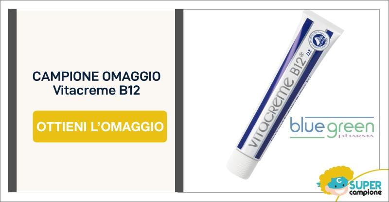 Campioni omaggio gratis Vitacreme B12