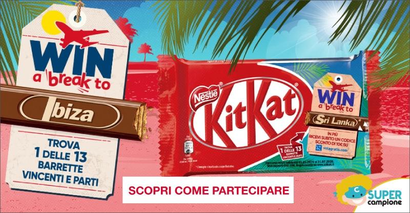Vinci un viaggio su Volagratis con KitKat