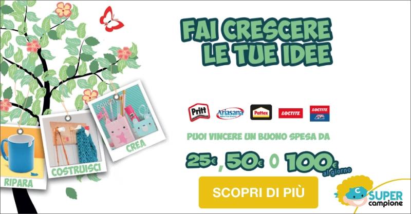 Vinci 100€ buono spesa con Henkel
