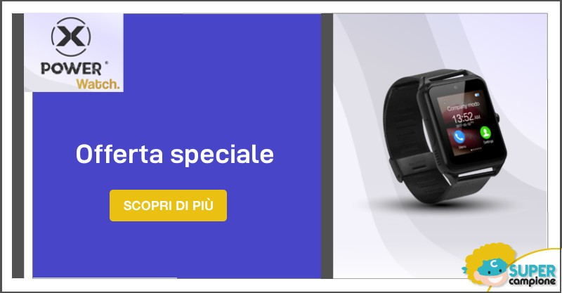 Offerta speciale SmartWatch di xPower